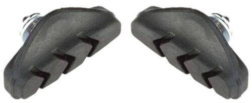 2 x CLARKS brake bike blocks for SHIMANO pad pads 50 mm rubber road inserts pair