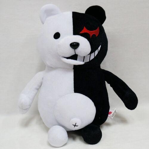 "9.8/"" Soft Plush Toy Dangan Ronpa Mono Kuma Black/&White Bear Monokuma Doll 25cm"