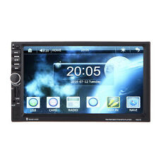 AUTORADIO MIT GPS NAVIGATION NAVI BLUETOOTH TOUCHSCREEN 7'' HD USB MP3 MP5 2DIN