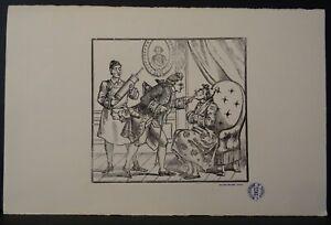Image d'Epinal Pellerin Le malade imaginaire Molière tirage 1953 | eBay