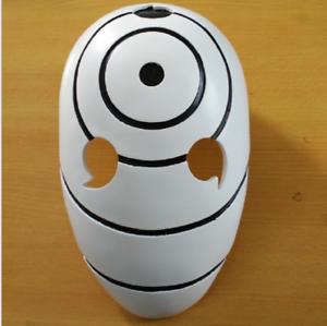 Naruto Tobi Obito Akatsuki Anime Cosplay Mask #H MG