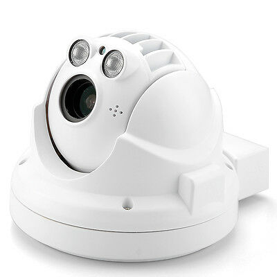 Outdoor Weatherproof Mini IP Camera - 720p, H.264 Compression, PTZ, Night Vision