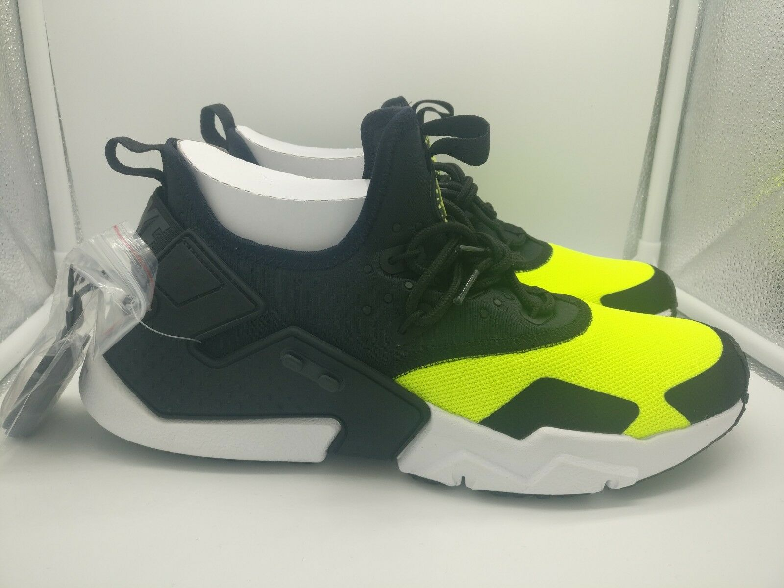 Nike Air Huarache Drift UK 7 V Noir Jaune AH7334-700
