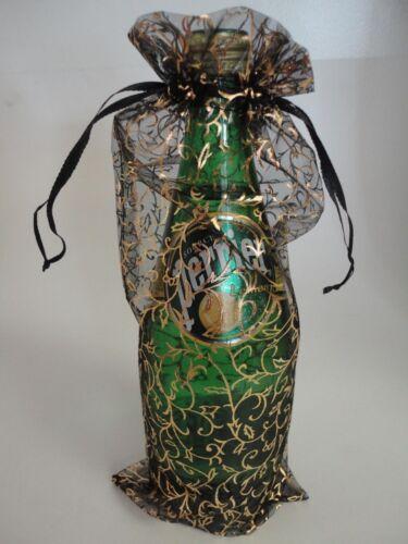 "12 pcs of Elegant organza wine gift bag 5.5/""X12.5/"""