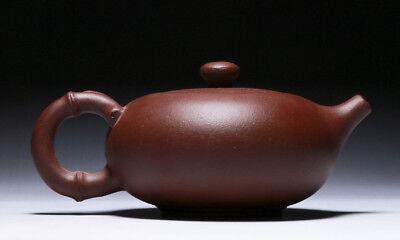 Chinese Yixing zisha teapot handmade Bamboo Wangzhaochun teapot