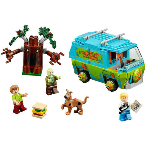 305PCS Scooby Doo Mystery Machine Bus Building Block Building Toys 10430