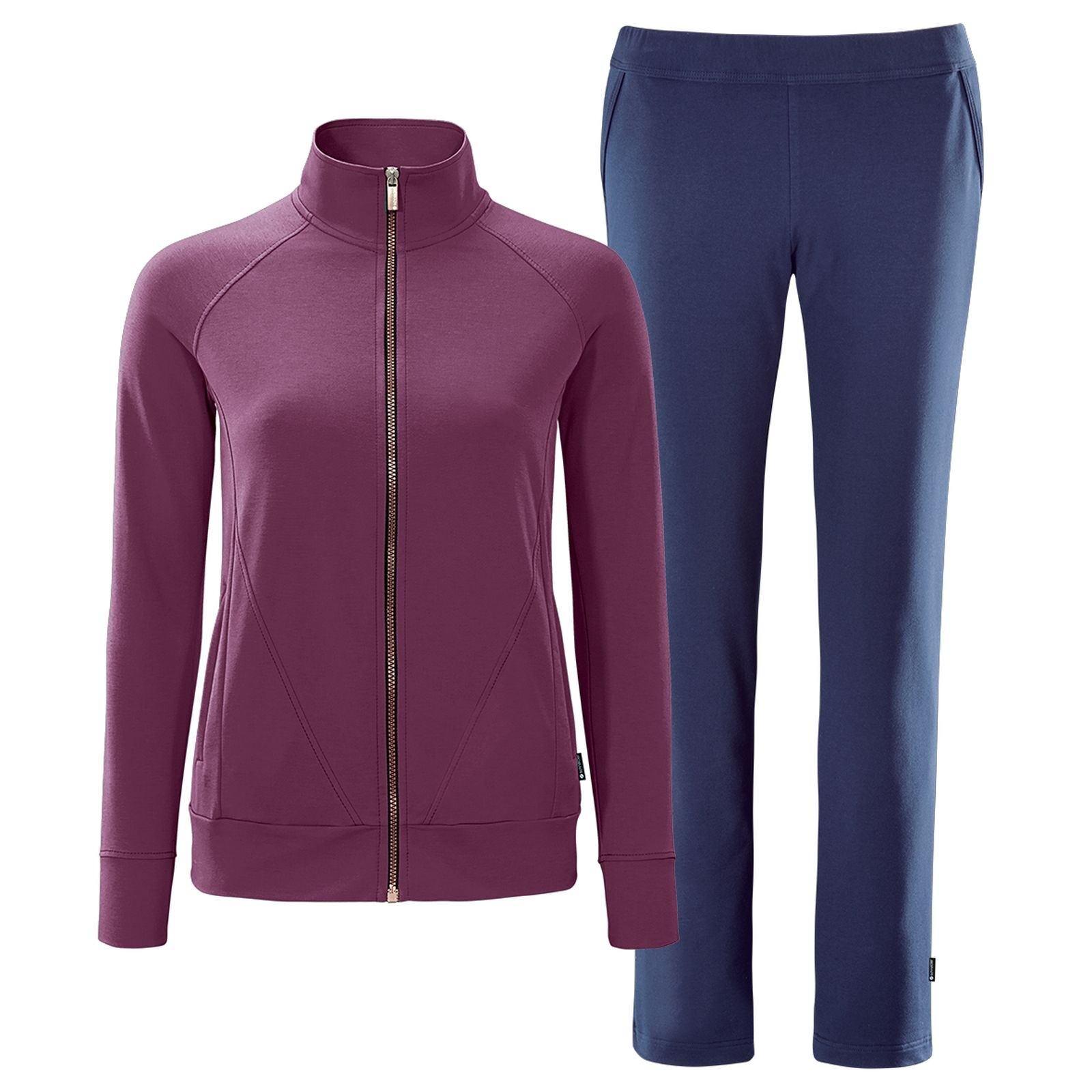 Schneider Sportswear Donna Tuta Fitness keaw VIOLA BLU