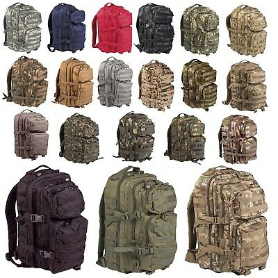 Cooperativa Mil-tec-us Assault Pack Esercito Zaino Zaino Escursionismo Sport Tempo Libero S E L- Ultimo Stile