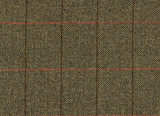 1457/6 Scottish Tweed Fabric 100% Wool Made In Scotland By The Metre