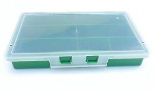 Kleinteilebox-Kunststoffbox-Box-Schraubenbox-Anglerbox-Aufbewahrungsbox-Neu