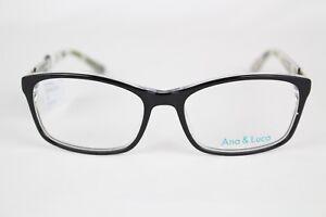 New Ana Amp Luca Women S Eyeglasses Francesca Black 52 16
