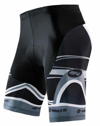 Mens Cycling Shorts Padded Road Bike Pants Stretchy Indoor Outdoor Cycle Tights