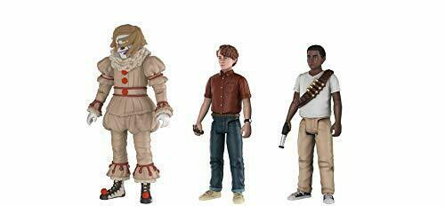 "Funko It Movie Set Pennywise Stan Mike 4/"" Action Figure Set"