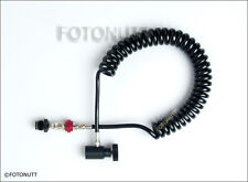 HEAVY-DUTY REMOTE COIL AIR/CO2 PAINTBALL GUN HPA/N2 THICK HOSE with ON/OFF - NEW