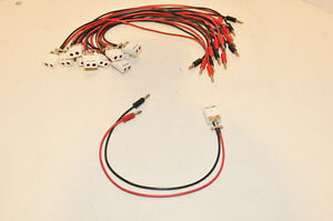 Omega-Enginering-Thermocouple-Plug-Jack-to-Banana-Adapter-Cable-NEW