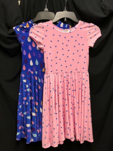 NEW Dot Dot Smile  Lot Of 2 DRESSES Girls Pink Cup Classic cup *11