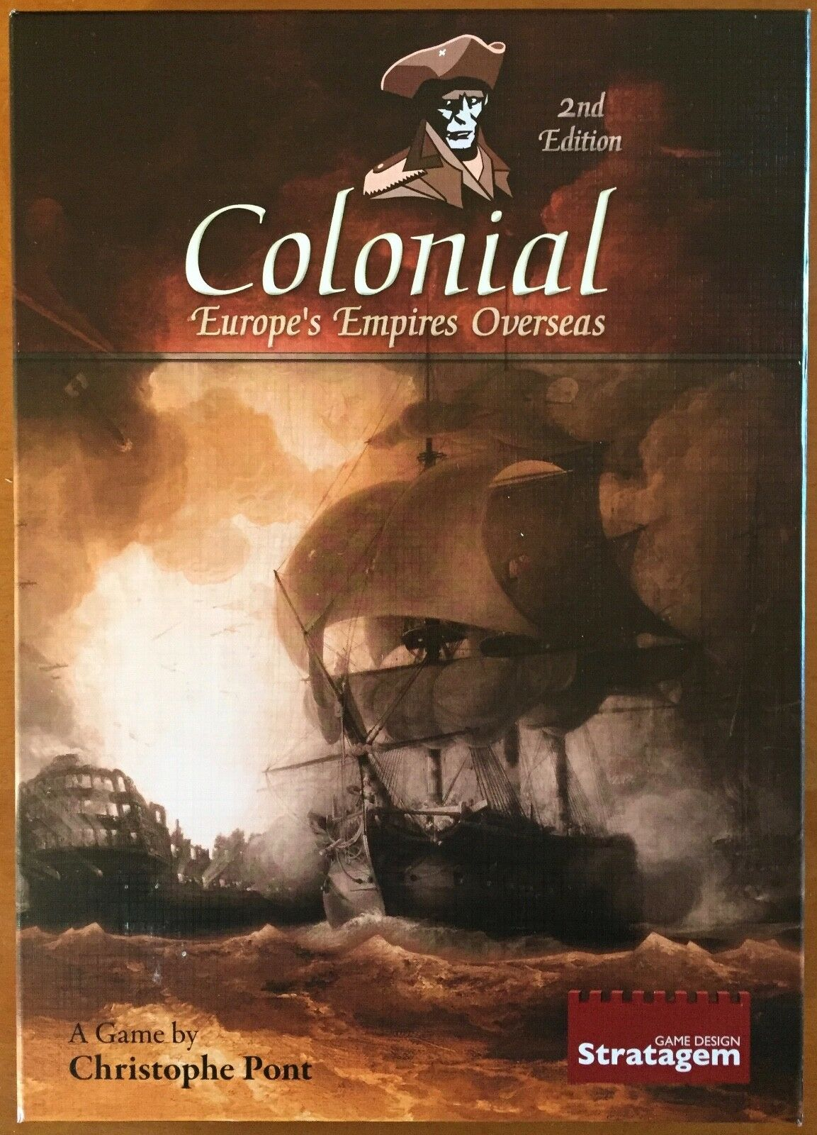Colonial: Europe's Empires Overseas - Stratagem Game Design 2011 - UNPUNCHED