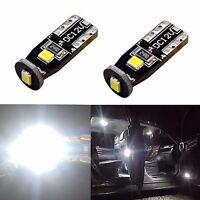 JDM ASTAR 2x T10 Corner Parking License Side Mark White LED Lights Bulbs Short