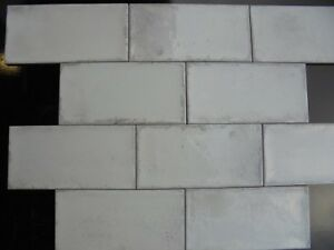 Details About Harewood Blanco White Kitchen Wall Tiles 10 X 20cm Sample Tile X 1