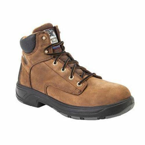 Georgia para Hombre botas De Trabajo Impermeable FLX punto G6544 Marrón