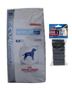 12kg Royal Canin Mobility C2p Veterinary Diet Diète pour chien 80 pièces Kotbeutel