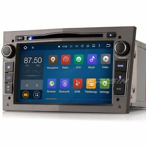 android 5 1 car stereo sat nav dab radio vauxhall vectra. Black Bedroom Furniture Sets. Home Design Ideas