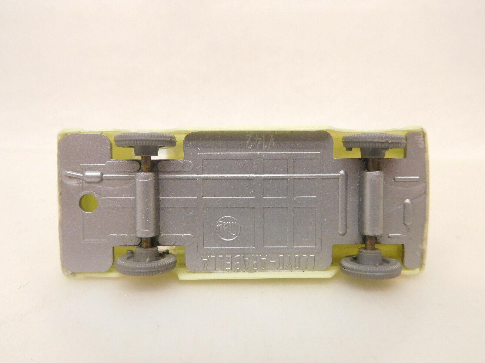 X-63100 Siku Plastik V 142 Lloyd Arabella mit mit mit leichte Gebrauchsspuren 2ff111