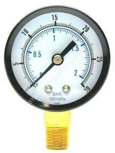 Low Pressure Regulator Gauge,Right Hand Thread For Homebrew Co2 Regulator Parts