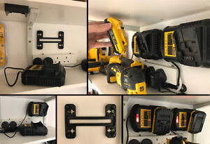 Battery Charger Mount For Dewalt Dcb105 Wall Panel