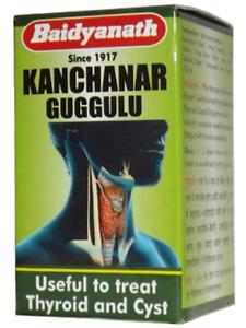 Details about Kanchnar  Baidyanath Kanchanar Guggulu 80 Tablets Free  Shipping
