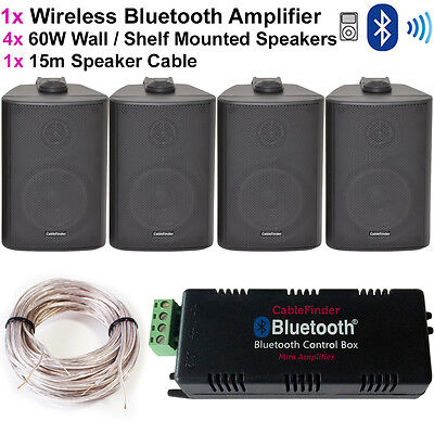 wireless amp and speakers