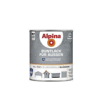 Alpina Buntlack für Außen - Wetter- und UV-beständige Buntlacke Außenbereich