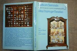 Sammlerbuch altes Thüringer Porzellan Marken Manufakturen Volkstedt 1984  DDR