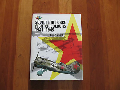 Soviet Air Force Fighter Colours, 1941-1945 by Erik Pilawskii (2008, Hardcover)