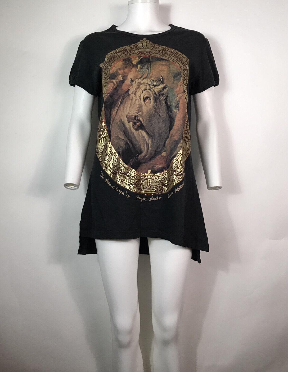 Rare Vtg Vivienne Westwood 90s Black Gold Label B… - image 2