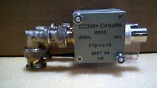 Mini Circuits 15542 Ftb 1 1 75 9507 04 C15 Rf Transformer
