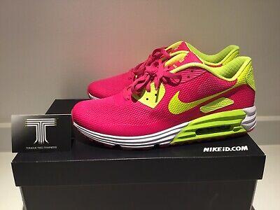 "Ortodoxo Horror bordado  Nike Air Max 90 Hyperfuse ID ""Pink Blast"" ~822562 997 ~ Uk Size 10.5 ~ Euro  45.5 | eBay"