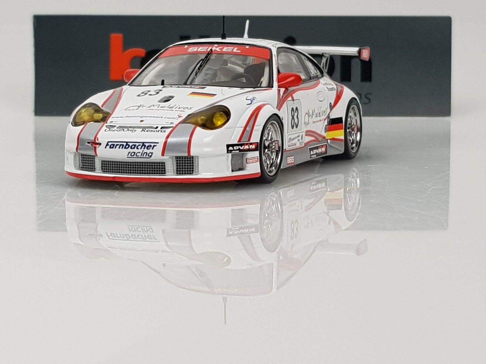 SPARK S0971 Porsche 996 GT3 RSR n°83 Le Mans 2006 1.43 NB