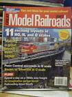 Great Model Railroads 2007 Magazine -Model Railroader-11 Plans For HO,N,& O