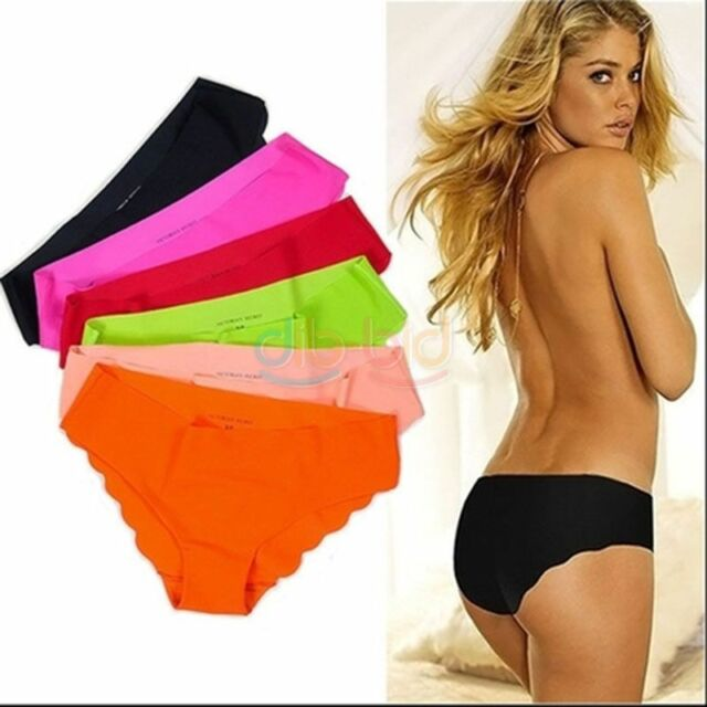 Lot 1/3/5 Pairs Women's Seamless Briefs Hipster Underwear Underpants