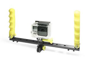 Tauchstativ-f-GoPro-HERO-SJCAM-Diving-Tray-Steadycam-Handle-Snorkeling-Scuba