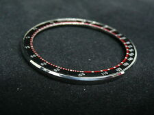 Seiko UFO 6138-0011, 6138-0017,  6138 Chronograph Bezel Black/red compele.