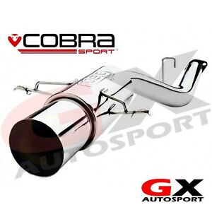 Details about SU41 Cobra Sport Subaru Impreza Sport Non Turbo GL 93-00 Rear  Box Exhaust