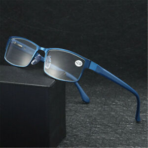 Business-Reading-Glasses-Vision-Care-Metal-Titanium-Alloy-Ultra-Light-Resin