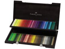 Faber-Castell Polychromos 120 Farbstifte im edlen Holzkoffer - 110013