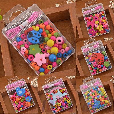 1Box New Friendship Girl Children Beads Jewellery Making Kit Kids Creative Craft