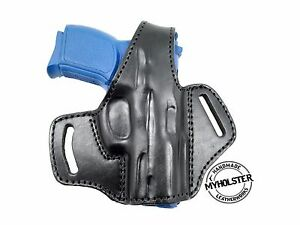 Walther Creed OWB Thumb Break Right Hand Leather Belt