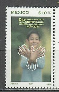 Mexico Mail 2005 Yvert 2107 MNH Against Drugs