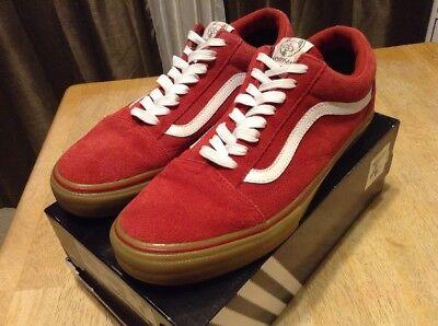 VANS X Golf Wang Syndicate Old Skool Red Gum