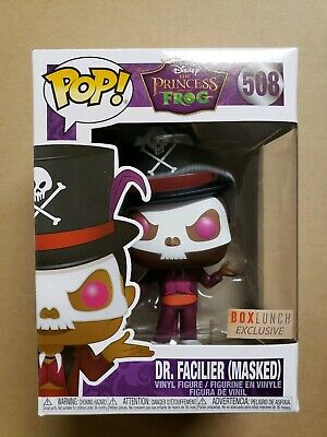 Facilier with Mask #508 Exclusive Funko Pop Dr The Princess and the Frog